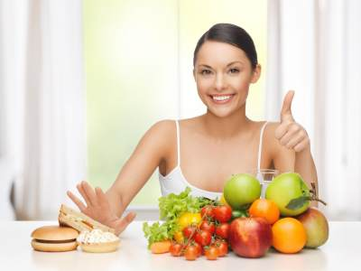 4. Mengonsumsi Makanan Bergizi