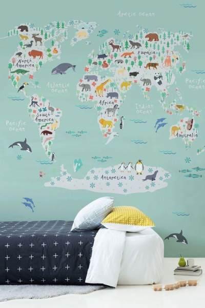 3. Gunakan Wallpaper Motif yang Lucu