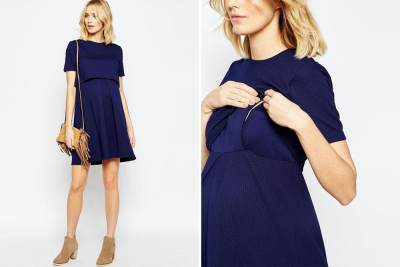 Nursing Cape Dress