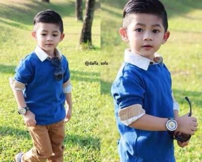 Dari yang Imut Hingga Fashionable, Inilah Deretan Anak Paling Tampan di Indonesia