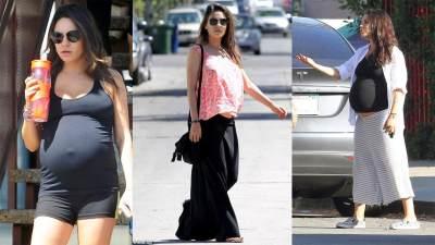 Enggak Cuma Daster, Ini Outfit Ibu Hamil yang Kasual dan Nyaman ala Mila Kunis