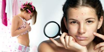 Perubahan tubuh anak perempuan