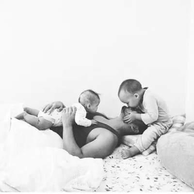 2) Libatkan Suami dalam Mengurus Anak