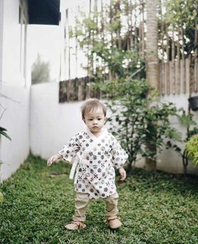 Ini Style Fashion Bjorka Dieter Morscheck, Bayi Hits yang Bikin Gemes!