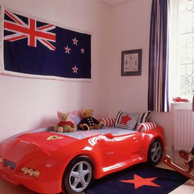 5. Racing Car Bed