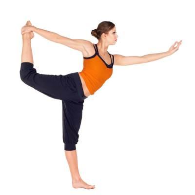 5. Single Leg Balance Stick