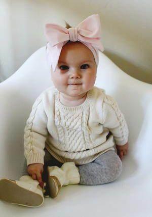 Inspirasi Bando Bayi Buatan Sendiri