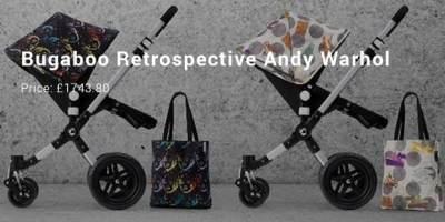 Bugaboo Retrospective Andy Warhol