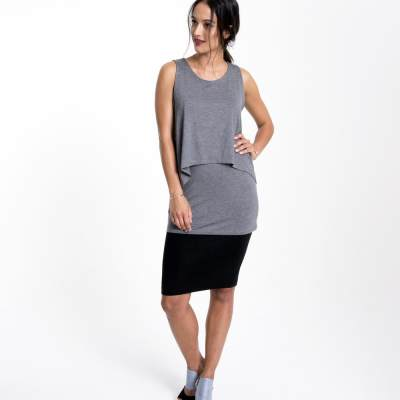 Layered Nursing Tanktop