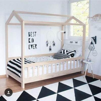 House Framed Bed