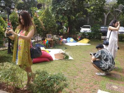 Mama's Me Time di Tropical Fun Day