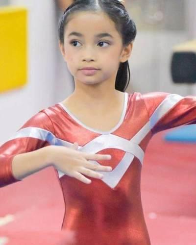 Sydney Azkassyah Yusuf,  Anak Cut Tari yang berprestasi di bidang Gymnastic