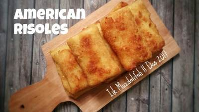 Inspirasi Frozen Snacks : American Risoles