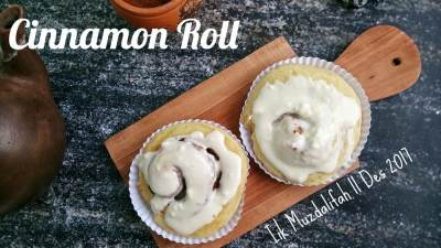 Resep Cinnamon Roll Super Lembut