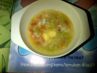 2. Sup Pelangi