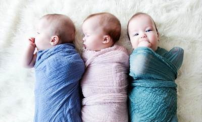 Nama Bayi Kembar 3 Perempuan
