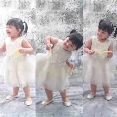 Gemesnya, 5 Anak Artis Ini Tampil Cantik dengan Dress!