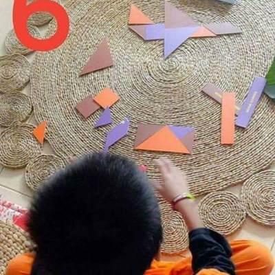 Tangram Membuat Anak Jatuh Cinta dengan Matematika