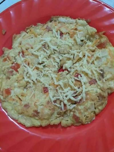 1. Omelet Sayur Tahu