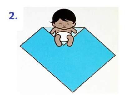 Moms Belum Bisa Membedong Bayi? Ikuti Tutorialnya Yuk!