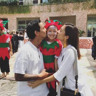 Intip Deh, Foto Kebersamaan Keluarga Irfan Bachdim yang Family Goals Banget