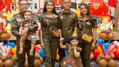 Inspirasi Gaya Fashion Kece Ala Artis Indonesia di Ulang Tahun Anak