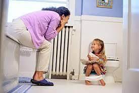 2. Anak Hanya Akan BAK di Toilet Jika Diajak Ke Toilet