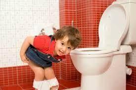 4. Si Kecil Hanya Bersedia BAK/BAB di Toilet Rumah Sendiri