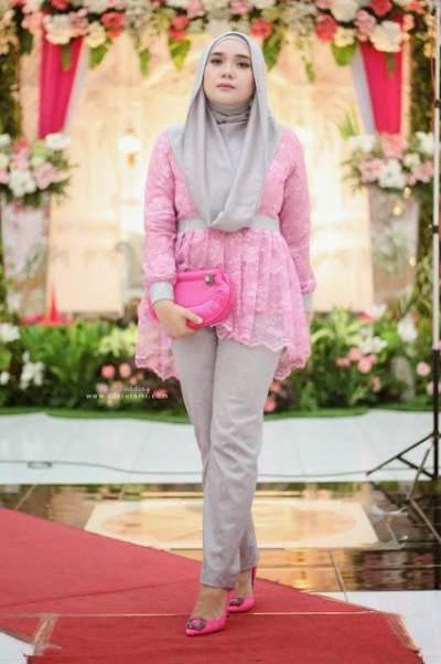 Inspirasi Style Celana Kondangan Hijab