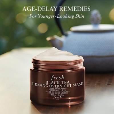 2. Fresh Black Tea Firming Overnight Mask