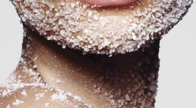 Mineral Peeling dengan Garam
