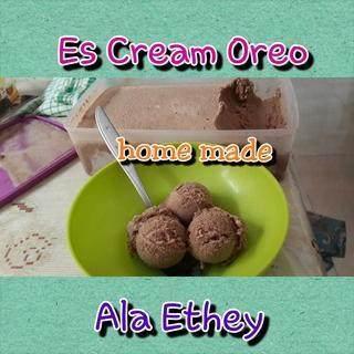 Es Cream Oreo Lekker Laziisss...
