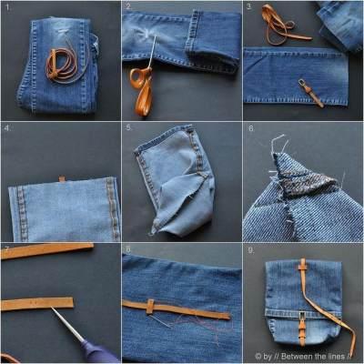 Fashion Hacks: Jangan Disimpan Saja, Ini Tips Memanfaatkan Celana Jeans yang Sudah Robek