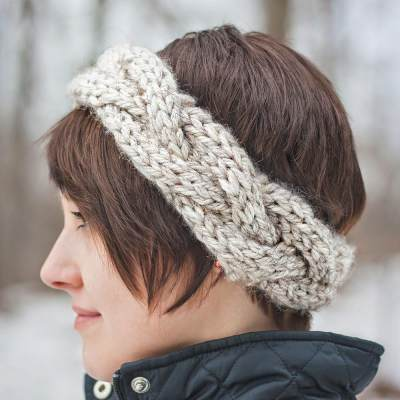 1. Cable Crown Super Bulky Headband