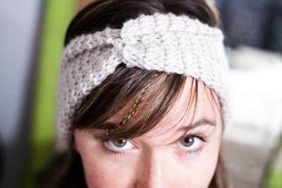 5. Headband (Cowl Pattern)