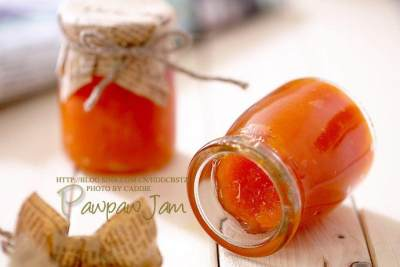 Homemade Papaya Jam