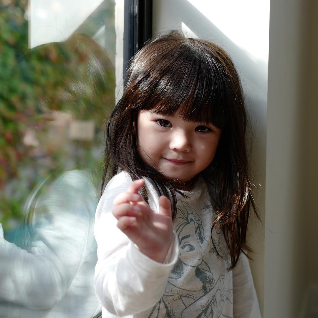Imutnya! Ini Dia Model Rambut Anak Perempuan Artis ...