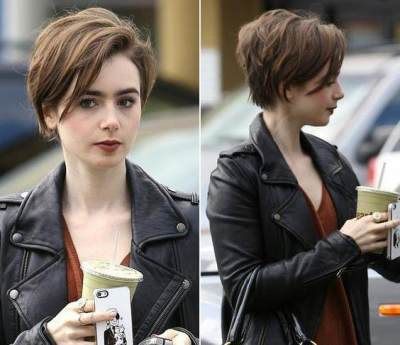 Long Pixie Cut with Texture