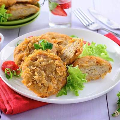 3. Steak Tempe Ikan Dori