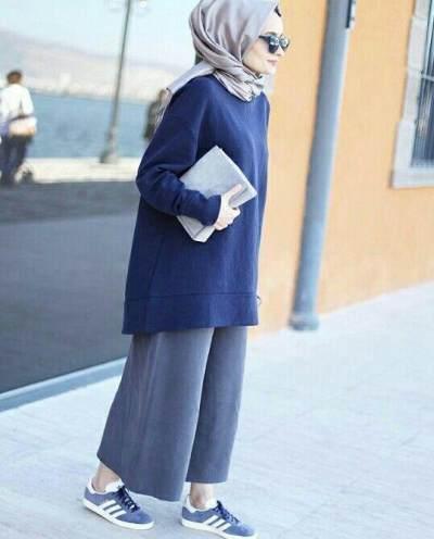 Celana Kulot untuk Hijabers