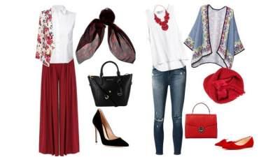 Agar Tak Berlebihan, Begini Tips Padu Padan Memakai Hijab Warna Merah