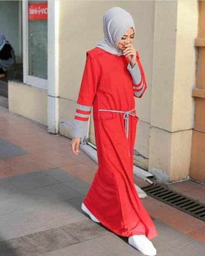 3. Long Dress Polos