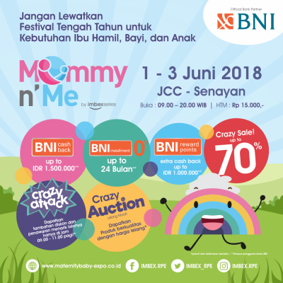 MOMMY AND ME 2018, Mom, Ayo Catat Tanggalnya!