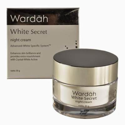 2. Wardah White Secret Night Cream