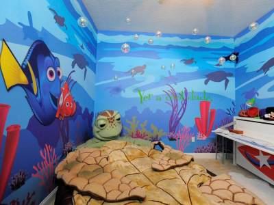 4. Interior Nemo dan Dory