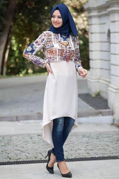 Long Tunic With Half-Full Body