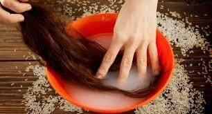 5. Manfaat air beras untuk rambut sehat berkilau