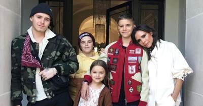 Super Keren! Ini Dia Gaya OOTD Anak Selebriti Hollywood Victoria dan David Beckham