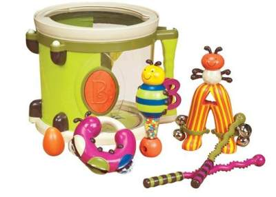 Bayi Usia 11 Bulan: Drum Set