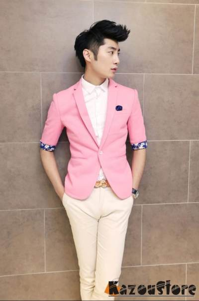 4. Warna Pink untuk Lelaki